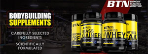 BTN Sports, BTN Sports supplements, Nutritional supplements for bodybuilding, whey protein, whey protein isolate,