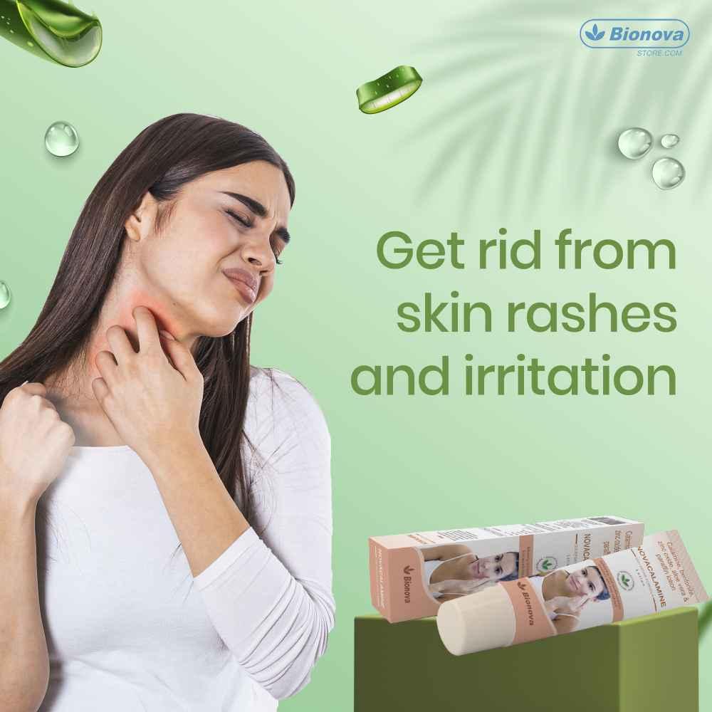 Bionova Calamine Lotion for minor skin rashes and irritation - 100ml