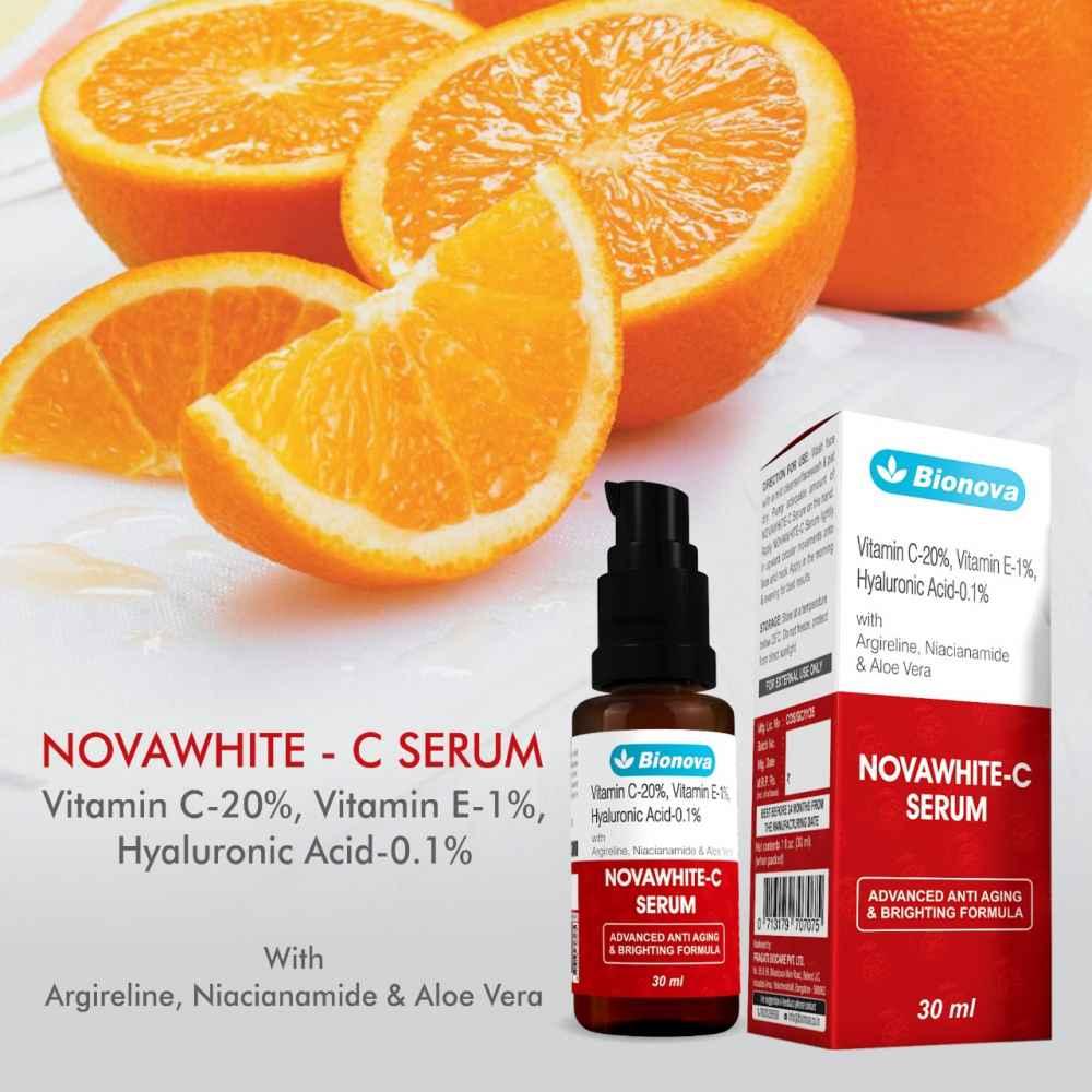 VItamin C Serum, Vitamin C 20% with Argireline Peptides, 30ml Glass bottle