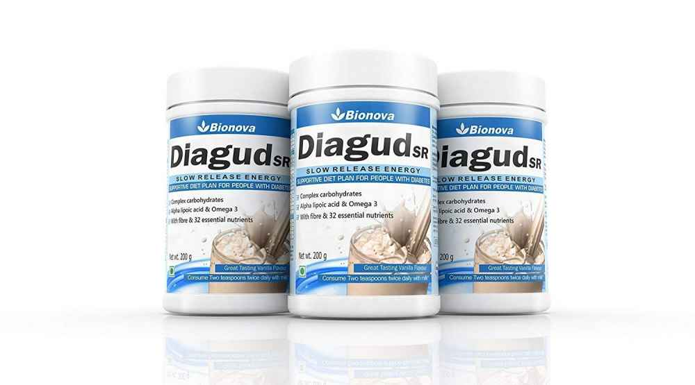 Diagud-SR health drink for those suffering from diabetes
