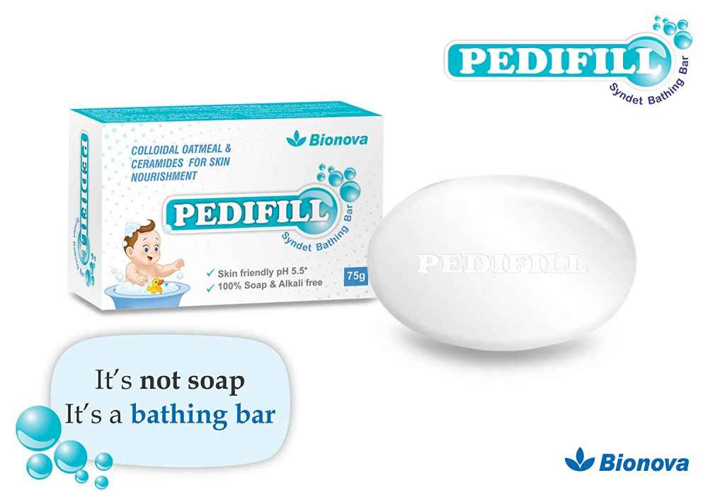 Bionova Pedifill Syndet Bathing Bar - 75g