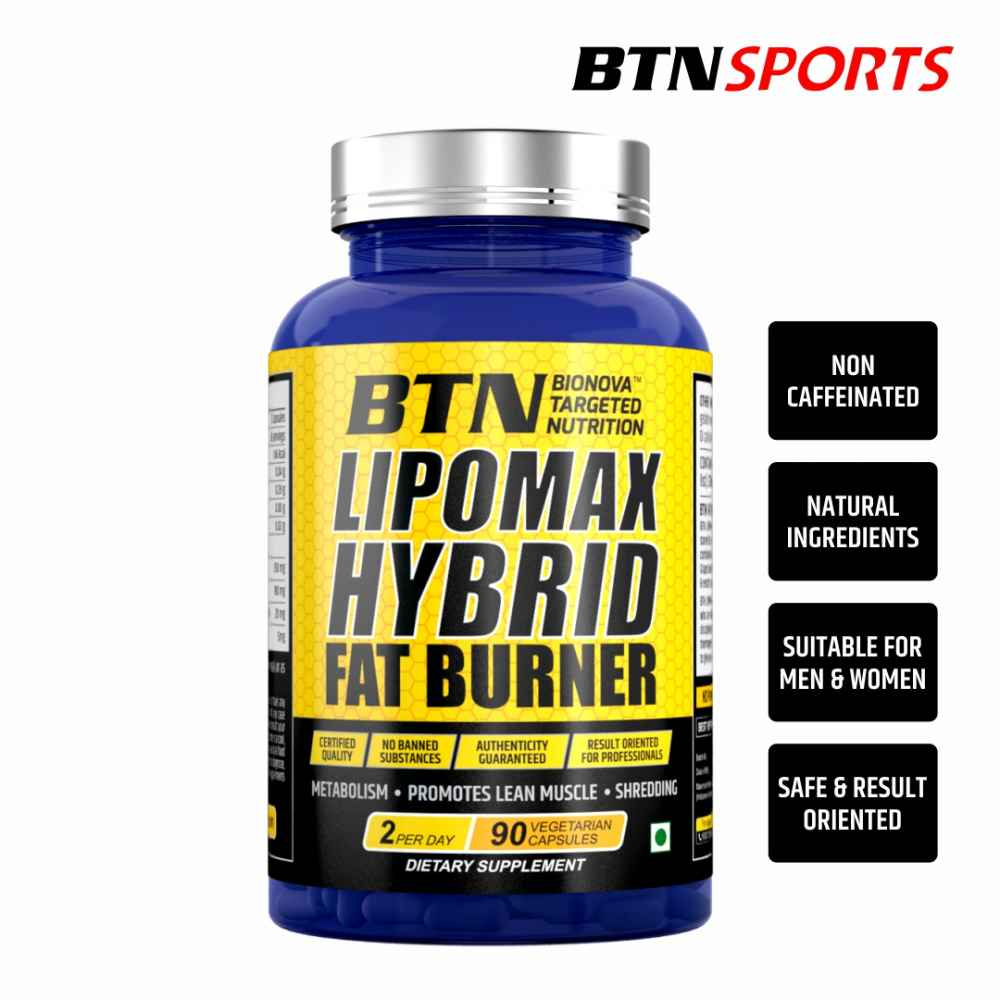 Fat burner supplement for body building with natural extracts