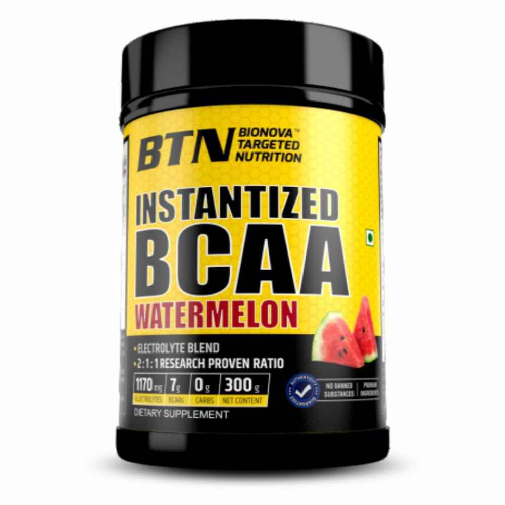 Instantized BCAA (2:1:1 Ratio) with eletrolytes, Juicy watermelon taste 300g