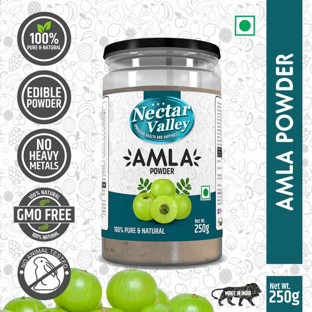 Nectar Valley Amla Powder Indian Gooseberry 250g 100% Pure And Natural