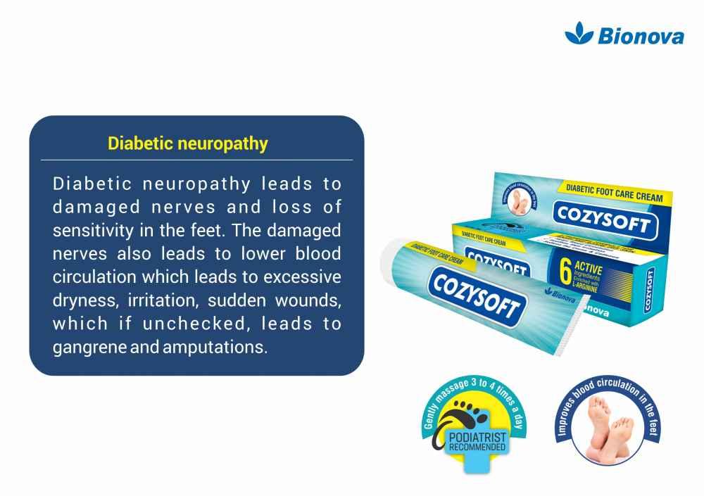 Diabetic Foot Care Cream