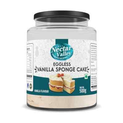 Nectar Valley Eggless Vanilla Sponge Cake Mix 500gm