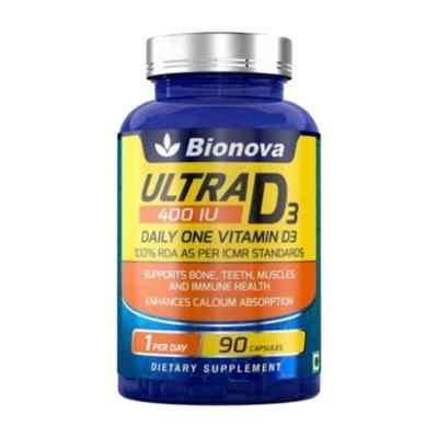 Ultra D3 Daily One - Vitamin D supplement for men & women