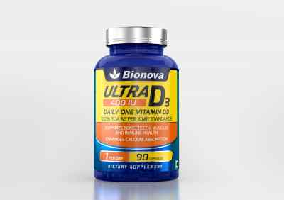 Ultra D3 Daily One - Vitamin D supplement for men & women