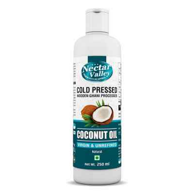 Nectar Valley Cold Pressed Virgin Coconut Oil - Extracted from Fresh Coconut Milk | 100% Natural & Unrefined