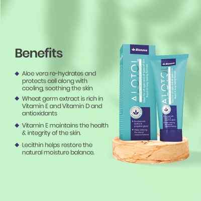Alotol Intensive Moisturizing Lotion | Softens & moisturizes skin 100ml pack