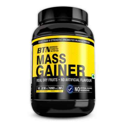 Muscle mass gainer protein powder - With Real dry fruits - 2.16kg