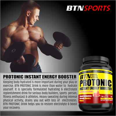 Protonic Instant energy booster watermelon drink with complex carbohydrate, electrolytes, minerals & vitamin C  - 1 Kg pack