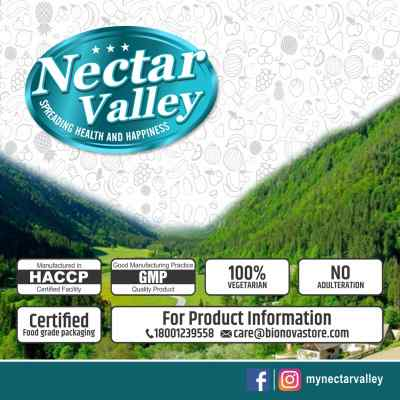 Nectar Valley Neem Leaf Powder (Azadirachta indica) 100% pure Edible & suitable for Anti-Dandruff Hair Packs & Anti-Acne Face Packs - 250g