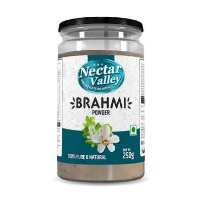 Nectar Valley Brahmi (Bacopa monnieri ) Powder Pure & Organically Processed Fine Powder - 250g
