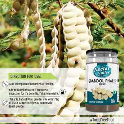 Nectar Valley Babool Phali Powder 250g100% Pure And Natural