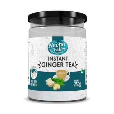 Nectar Valley Instant Tea Premix with Ginger (Chai) | With Natural Extracts of Tea & Ginger | Just aad hot water | Makes 15 cups - 250g